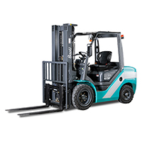pennwest internal combustion counterbalanced pneumatic forklift class 5