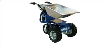 pennwest absolute ez up electric utility vehicles load carriers