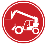 pennwest industrial trucks rough terrain outdoor forklift icon