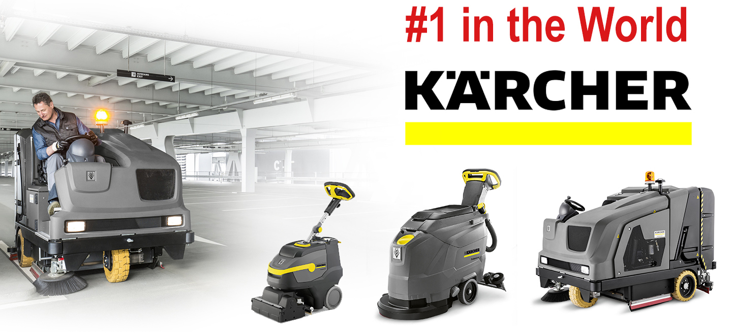 karcher industrial sweeper scrubber