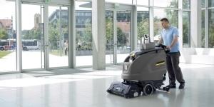 industrial sweeper scrubbers karcher building contractors