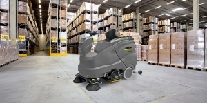 industrial sweeper scrubbers karcher manufacturing plants