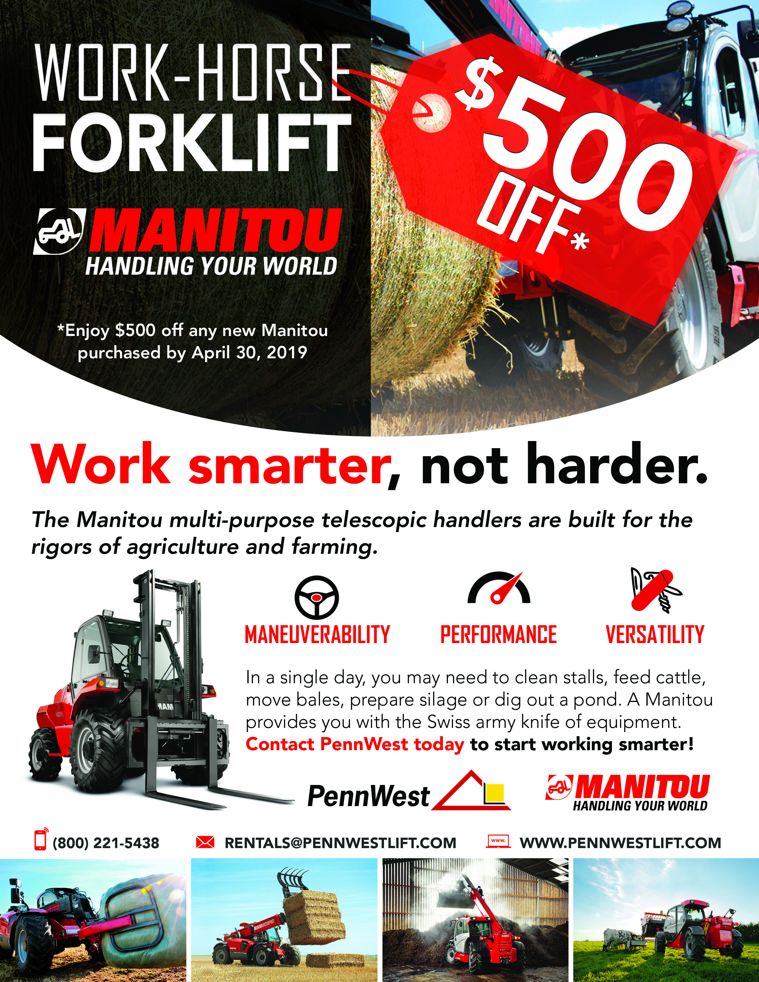 manitou special promotion