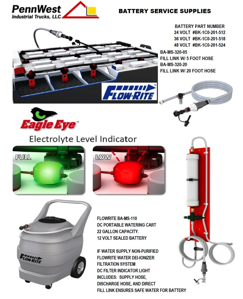 Industrial Battery Watering Methods and Best Practices