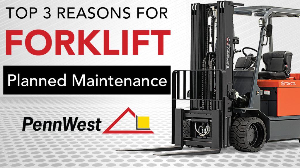 forklift planned maintenance