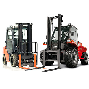 internal combustion forklifts